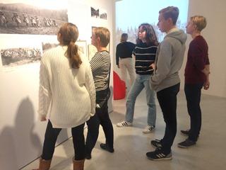 Åk 7-9 på utställning